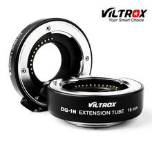 Viltrox Adaptador de lente de DG 1N de enfoque automático Tubo de extensión Macro, 10mm + 16mm, para Nikon 1 Montaje V1 V2 S1 J1 J2 J3 J4 J5 AW1