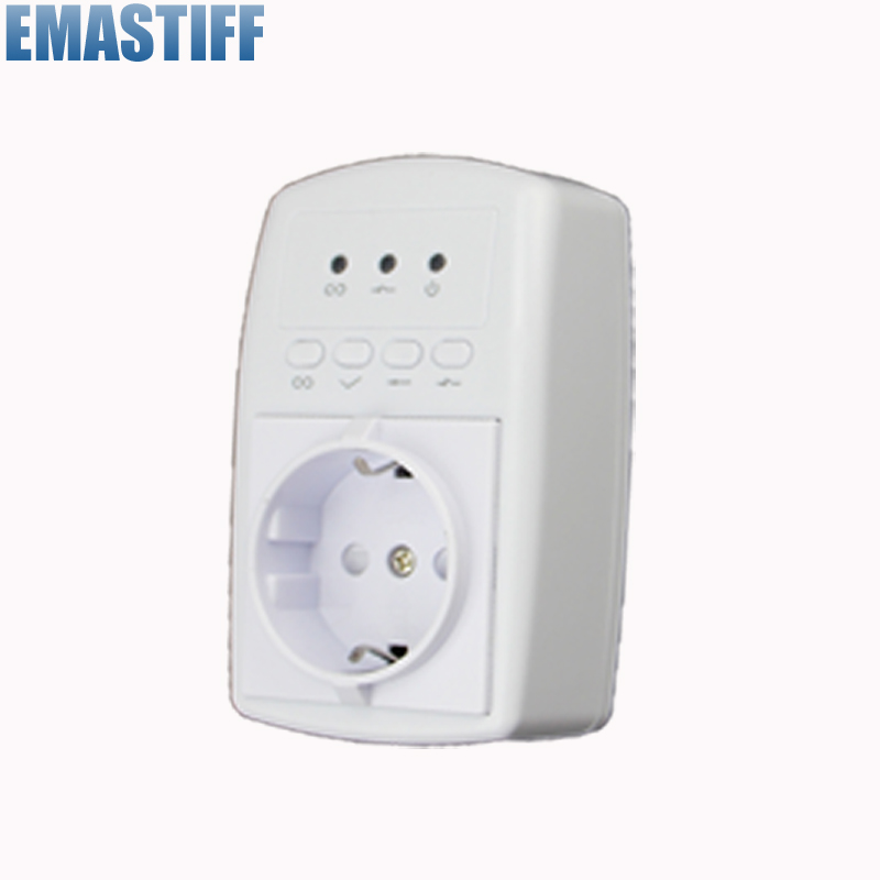 868mhz Wireless Smart Socket For Alarm System with APP GSM SMS control 868mhz plastic remote control compatible with 868mhz alarm system s2