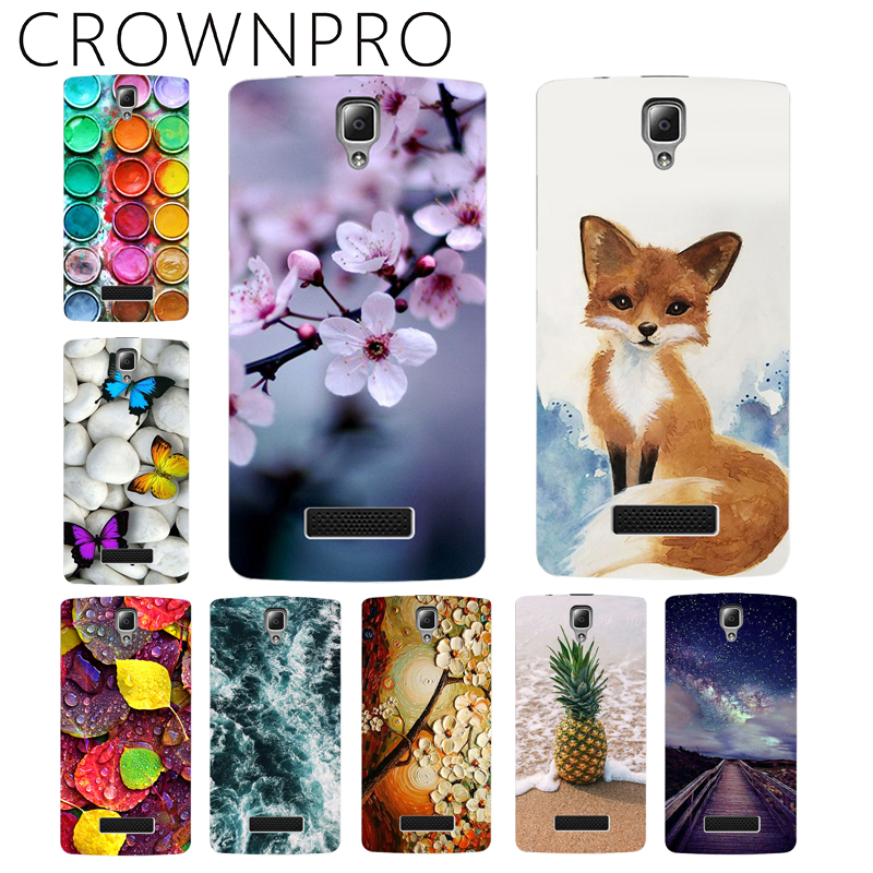 CROWNPRO Soft TPU Lenovo A2010 Case Cover A2860 A2580 A 2010 Painting Fashion Back Protective Case FOR Lenovo A2010 Phone Fundas