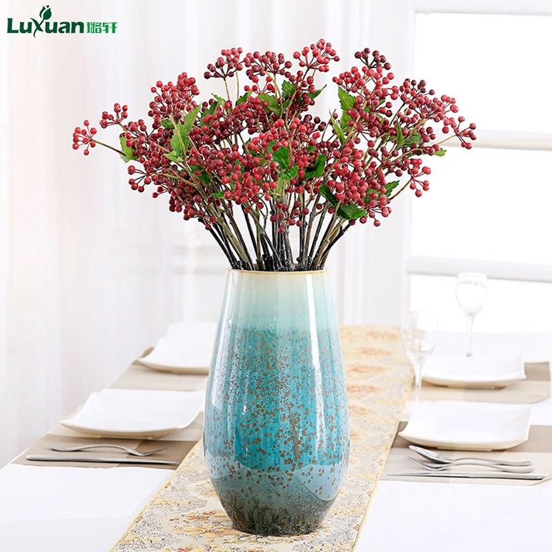 Wedding Altar Sims: Wedding Decoration Artificial Flower Berry 3pcs /lot