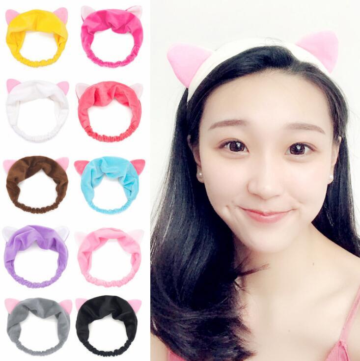 GTQ уши инструменты для волос повязка на голову вечерние макияж ободок для вечеринки, подарки для отдыха головной убор милый кот жизнь Для же...