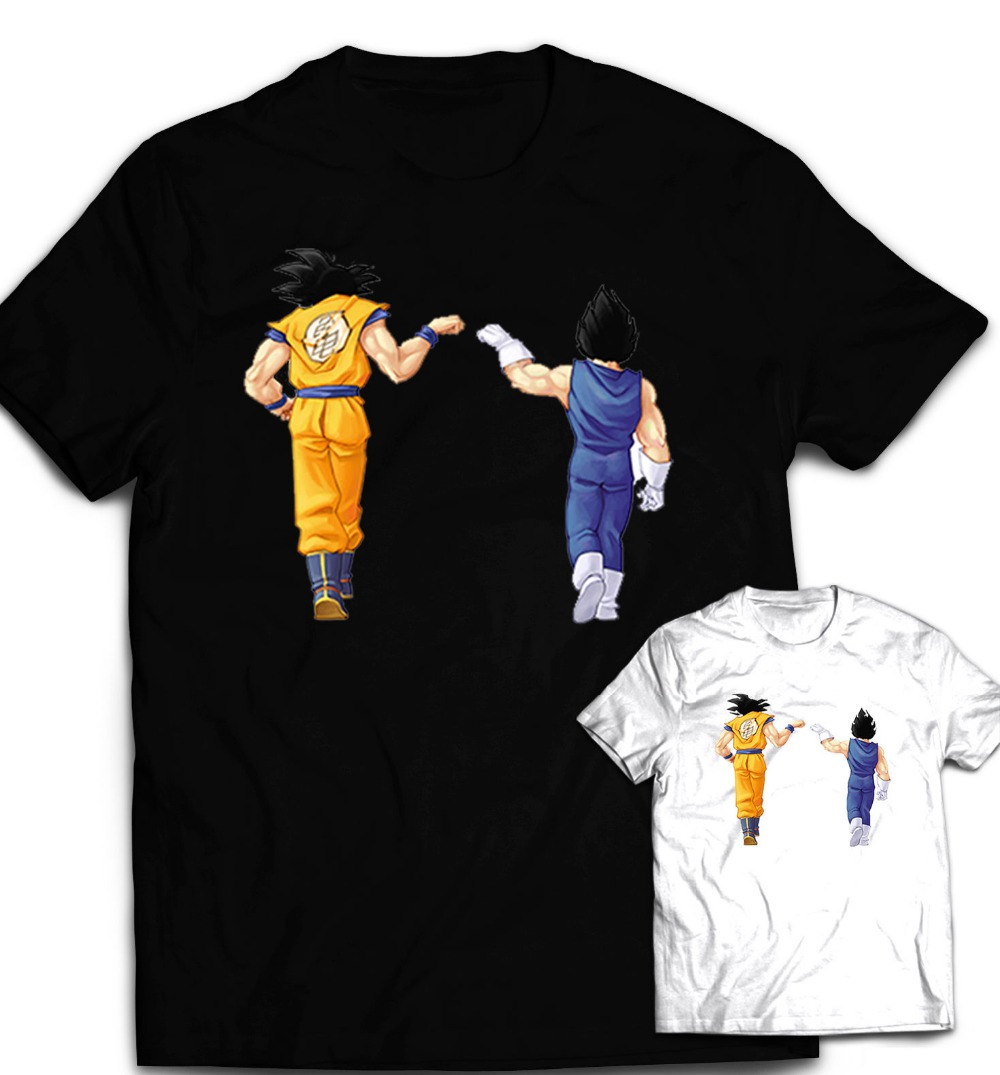 dragon ball z men 39 s t shirt dbz dragonball z goku vegeta saiyan fashion design mens womens boys. Black Bedroom Furniture Sets. Home Design Ideas