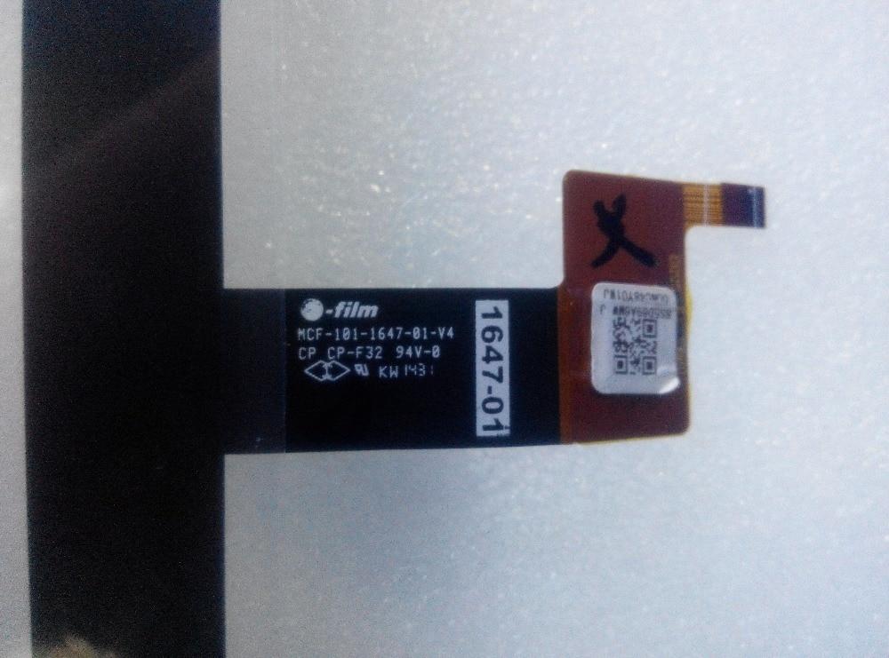 Pour Lenovo mcf-101-1647-81-v4 écran tactile numériseur panneau extérieur en verre avant mcf 101 1647 81 v4 MCF-101-1647-81-V4