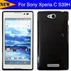 High Quality Rubber Silicone Skin Soft TPU Gel S line Skin Cover Case For Sony Xperia C S39h C2305 Cover Cases Wholesale
