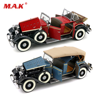 red /blue Kids toys 1/18 Lincoln KB Top up Vintage Classic Car Alloy Diecast Vehicle Car Model Toy Gift Car Toys for Collection