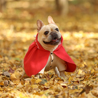 Pets Products Dogs Clothes Fashion Cloak With Hoodies For French Bulldogs And Pugs And Small Big Cats