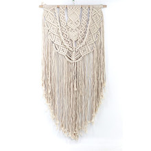 Nordic wind cotton woven tapestry wall decoration Bohemian home accessories decorative hanging