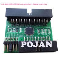 NEW Ink Decryption card For  Designjet 5000 5500 PS 1050C Ink Cartridge Permanent Chip ink plotter cartridge card parts POJAN