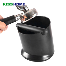 Double Layers Coffee Knock Box Creative Tilt Design Mini/Large Capacity Manual Grinder Household Accessories