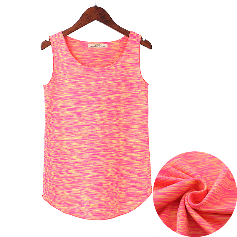 Newest Summer Womens   Tank     Tops   Elastic Loose Vest Quick Dry Breathable Sleeveless   Tank     Tops   Ladies Casual Shirts Skins Cami Vest