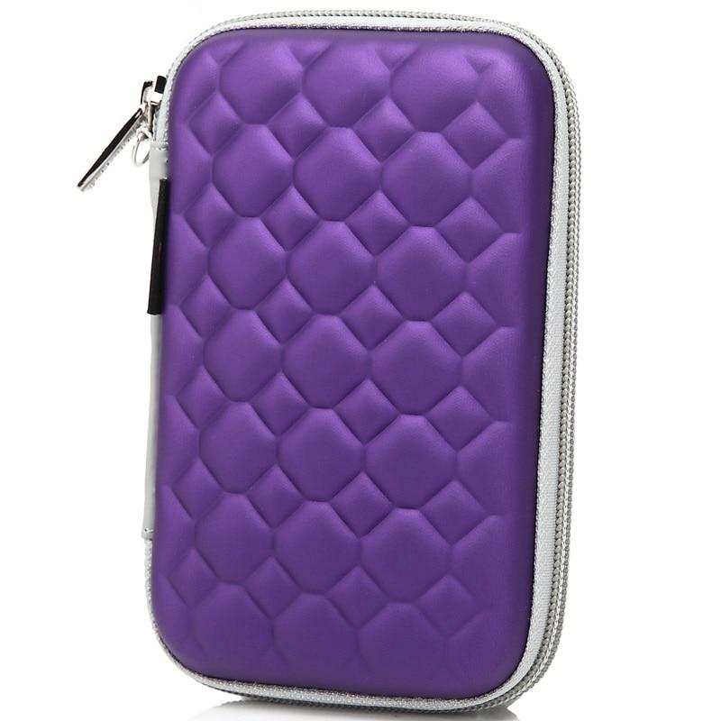 FULCLOUD for WD/Seagate/Samsung/Toshiba EVA waterproof shockproof mobile hard disk bag 2.5  digital mobile bag containing bag