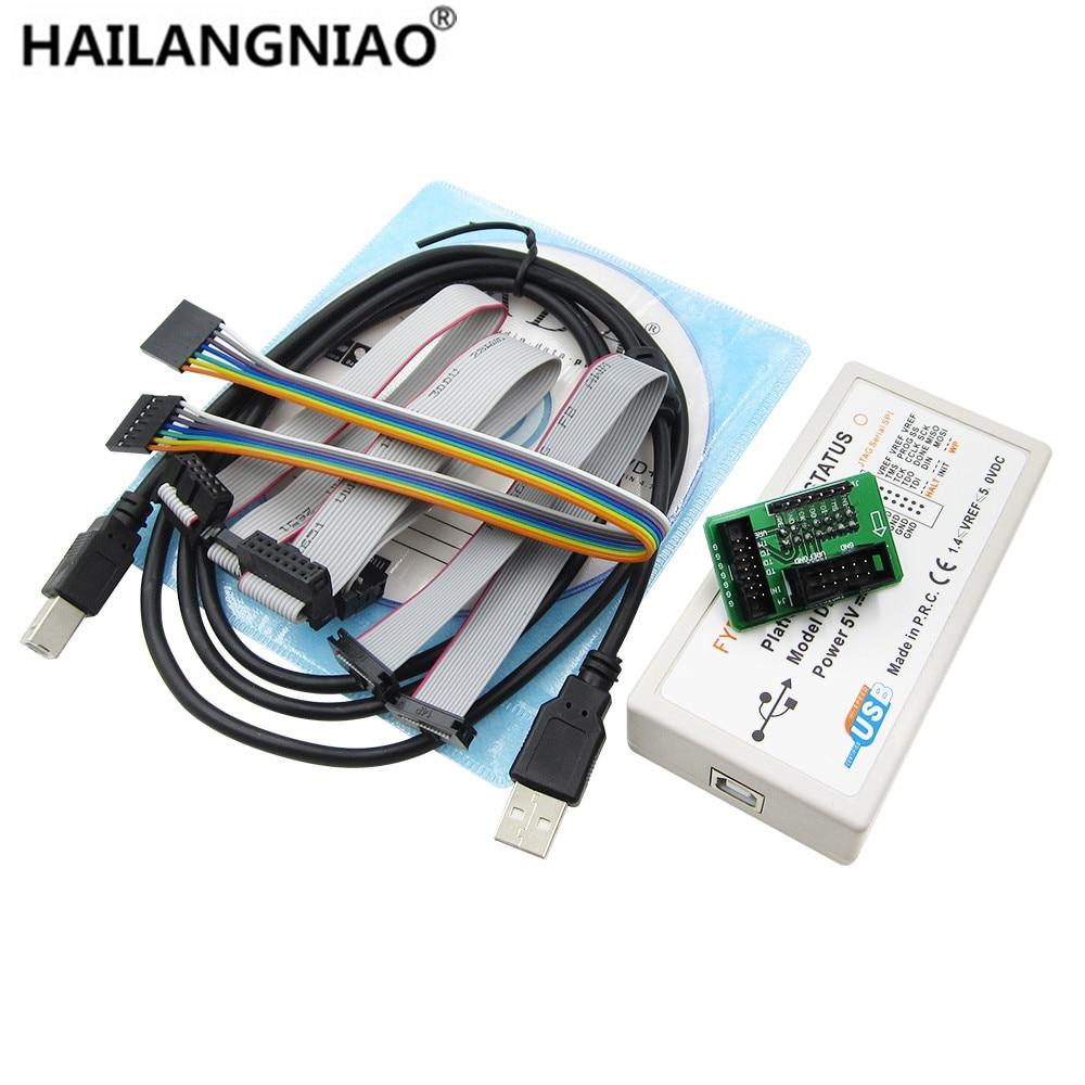 Xilinx Platform USB Download Cable Jtag Programmer FPGA CPLD C-Mod XC2C64A M102 LVTTL LVCMOS 3.3V 2.5V 1.8V 1.5V JTAG SPI IMPACT