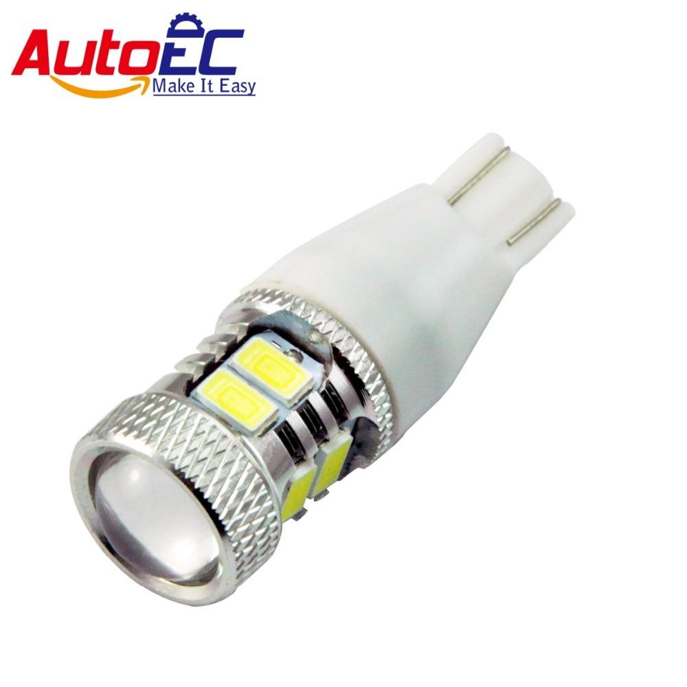 AutoEC 2X T15 W16W 921 8SMD 5730 Led High Power White Projector Lens Car Auto Tail Brake Parking Lights Lamp Bulb #LC07 сумка для девочки 921 2 жёлтый multibrand