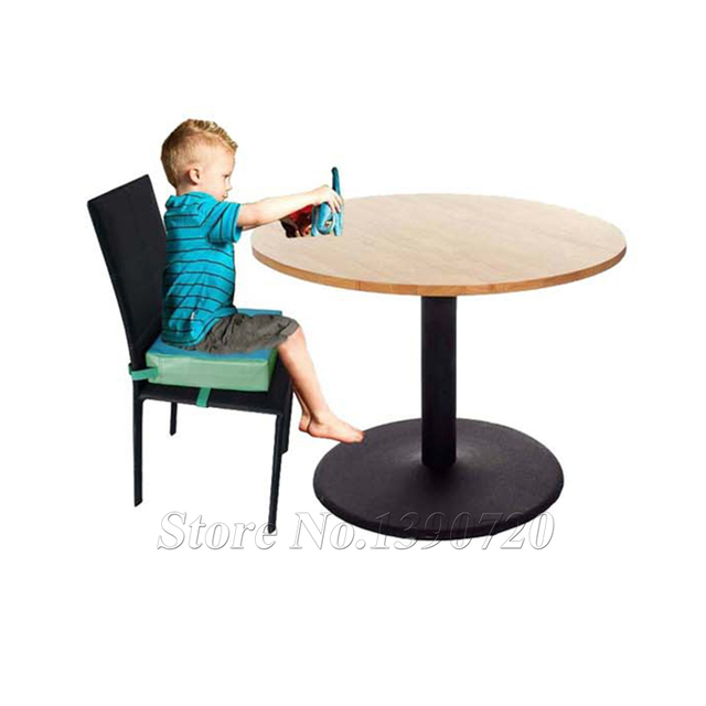 Baby Adjustable Synthetic Leather Detachable Dinner Eating Chair Cushion Children Portable Height Increase Pad Piano Cushion