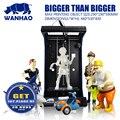 WANHAO Полностью Собранный 3D принтер D5S  самая большая область печати  комплект для 3D-принтера с бесплатной нитью и ценой доставки