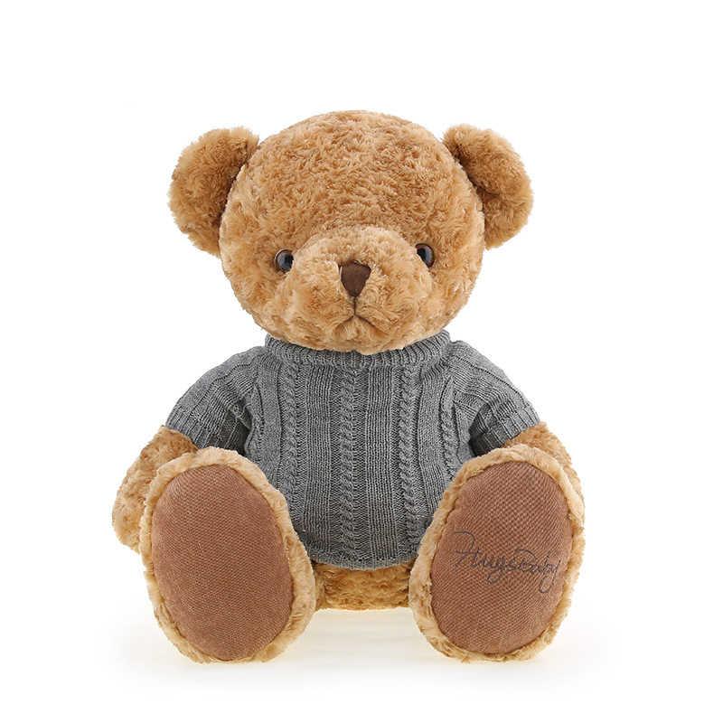 Tamanho grande de Peluche bonito urso de pelúcia brinquedos de pelúcia bonecas kids brinquedos para crianças meninas/meninos do presente do brinquedo com um pano