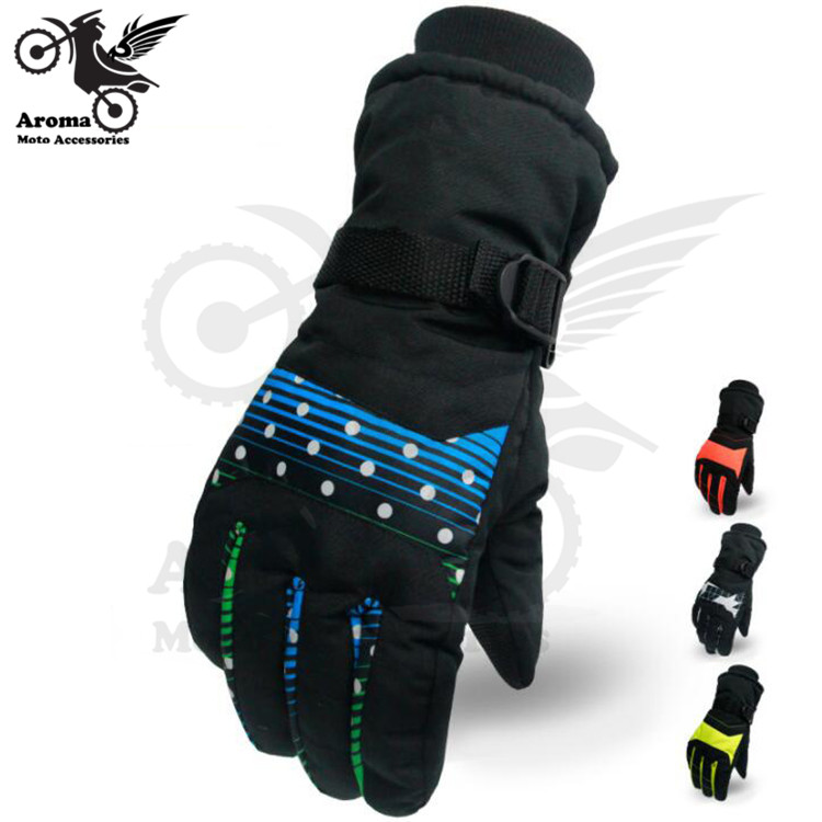 3 colors available motorbike glove winter warmth riding protection motorcycle gloves racing moto skiing hand protect full finger