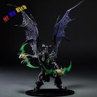 Hunter Action Figure Dc Unlimited Series 5 13 Inch Deluxe Boxed Demon Illidan Stormrage Wow Pvc Figure Toy