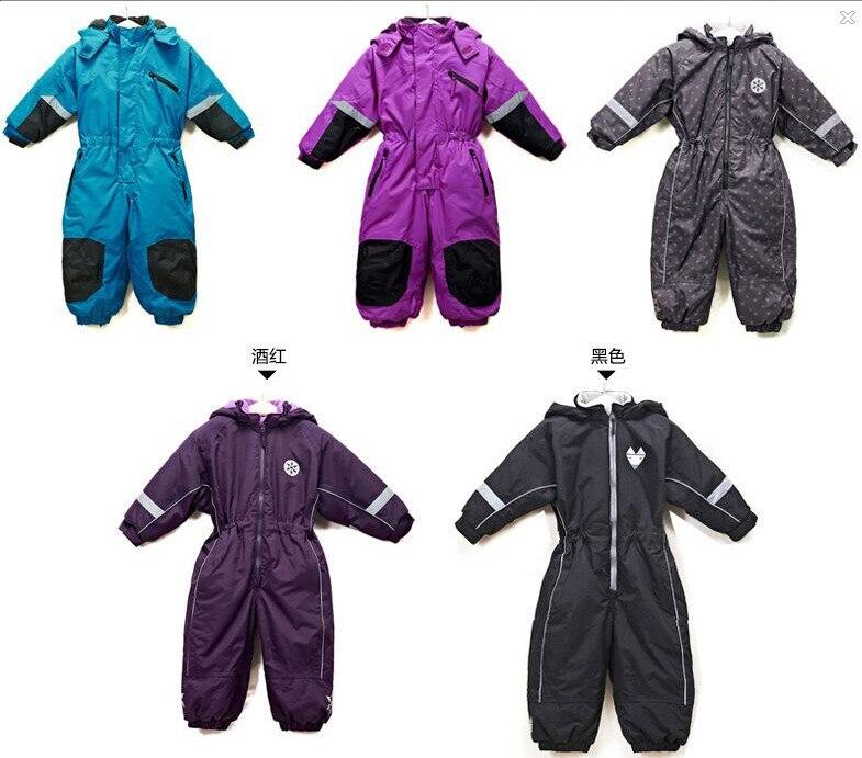 Warm winter suit brand children s leotard Romper Teddy