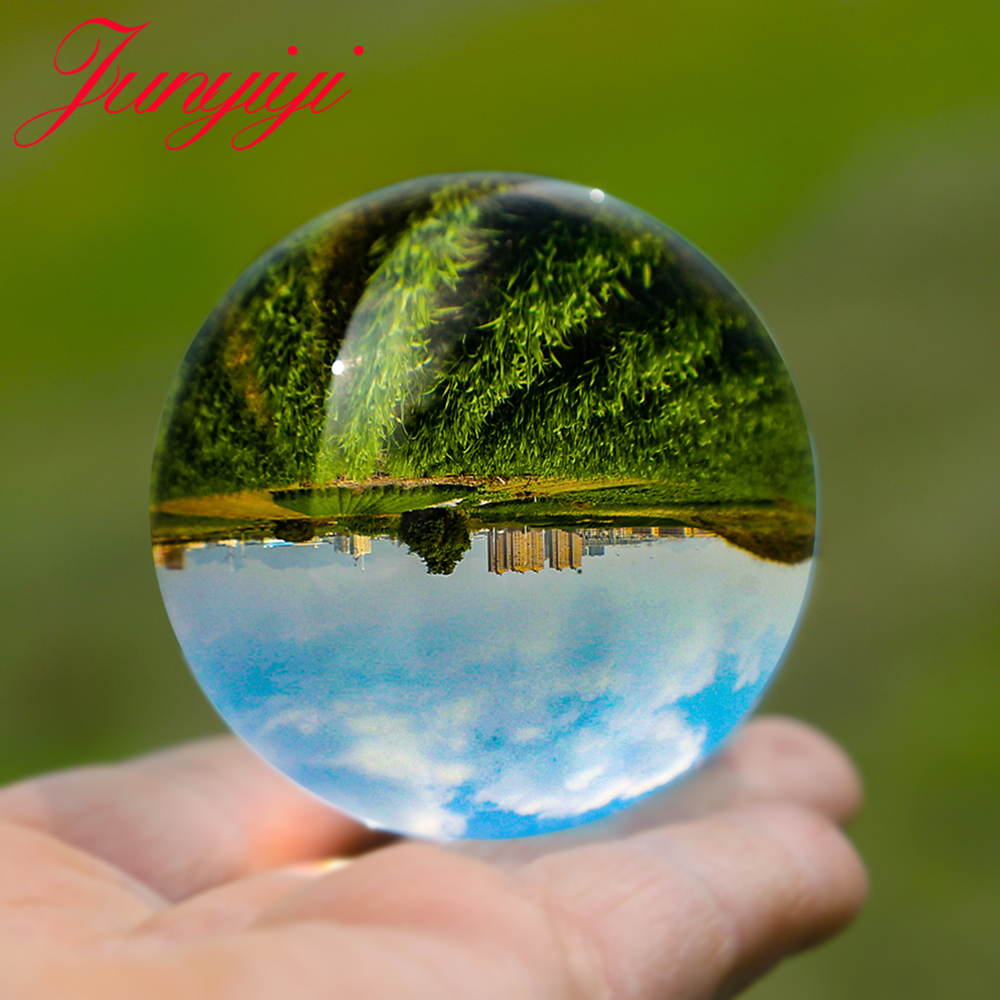 Photography Crystal Ball Magic Lens Divination Travel Take Pictures Glass Ball Fengshui Divination Home Decoration Accessories