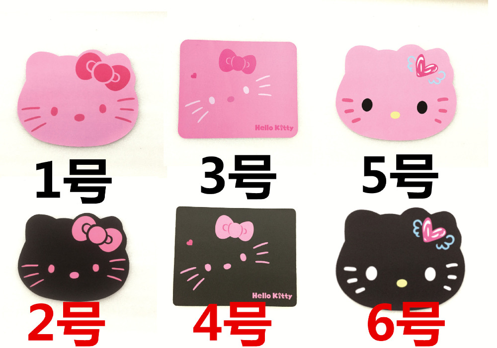 Cute Hello Kitty Mouse Pad Keyboard Pad Laptop Computer Mouse Pad Kawaii Kitty Mousepad Tapete De Rato(China)