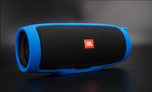 Image 2 - Weiche Silikon Abdeckung Fall für JBL Ladung 3 Bluetooth Lautsprecher Stoßfest Schutzhülle Harte Fall Für JBL Ladung 3 Charge3 fall