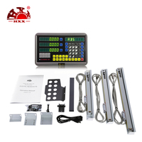 HXX New style 3 axis digital readout DRO &linear scales for mill