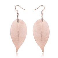 100% Real Leaves Earrings