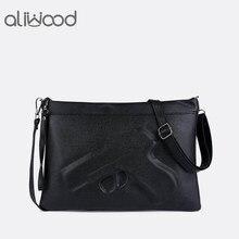 33707dceb93d Брендовые женские сумки через плечо Модные клатчи 3D принт кожа пистолет сумка  женские кошельки Дизайнер Высокое