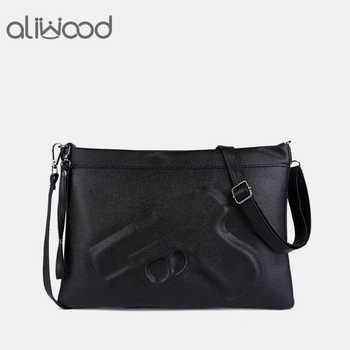 Brand Women's Messenger Bags Shoulder Handbags Fashion Clutches 3D Print Leather Pistol Bag Ladies Purses Designer High Quality - DISCOUNT ITEM  30 OFF All Category