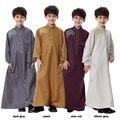Кафтан Мальчики Саудовская Daffah Тобе Thoub Абая Исламские Арабские Нитками Длинный Халат Платье