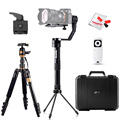 Zhiyun Crane 3 Axis Brushless Handheld Gimbal Stabilizer + Wireless Remote Control for Cameras Weights 350g~1200g with Tripod