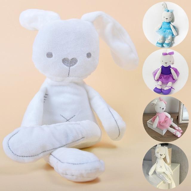 Kawaii Bunny Plush Toys Soft Stuffed Animal Rabbit Doll Toy For