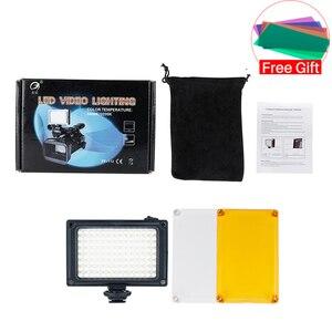 Image 5 - Ulanzi Mini luz LED para vídeo de bolsillo, Vlog, iluminación de relleno continua, para cámara Canon, Nikon, DSLR, Moza Mini S, Zhiyun Smooth 4, 112