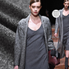 Snowflake Shape Gray Stretch Wool Fabrics Knitted Fabrics Apparel Fabrics Jacket Thickening