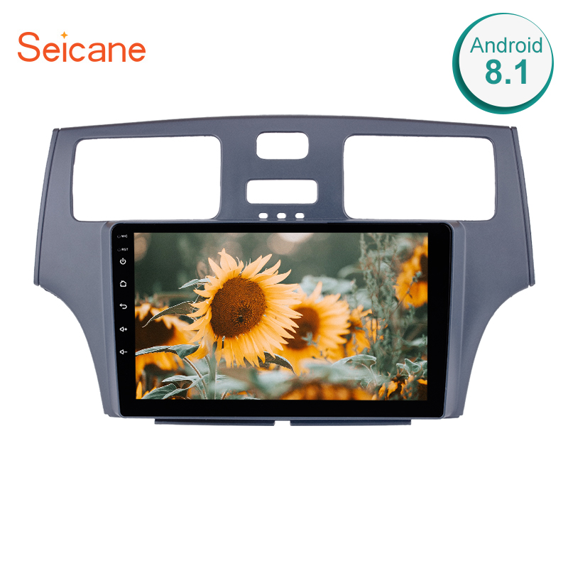 Seicane 9 Inch Quad Core Android 8 1 Head Unit Car Radio For 2001 2002 2003