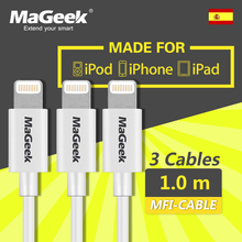 [3-Pack] MaGeek 1.0m Mobile Phone Cables