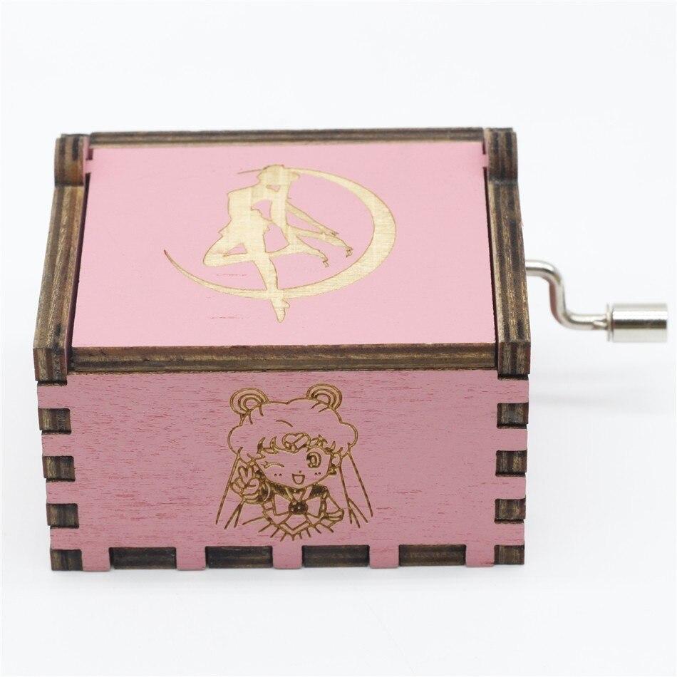 Новинка, розовая музыкальная шкатулка Сейлор Мун, Игра престолов, музыкальная шкатулка, музыкальная тема, Caixa De Musica, подарок на день рождения - Цвет: 5