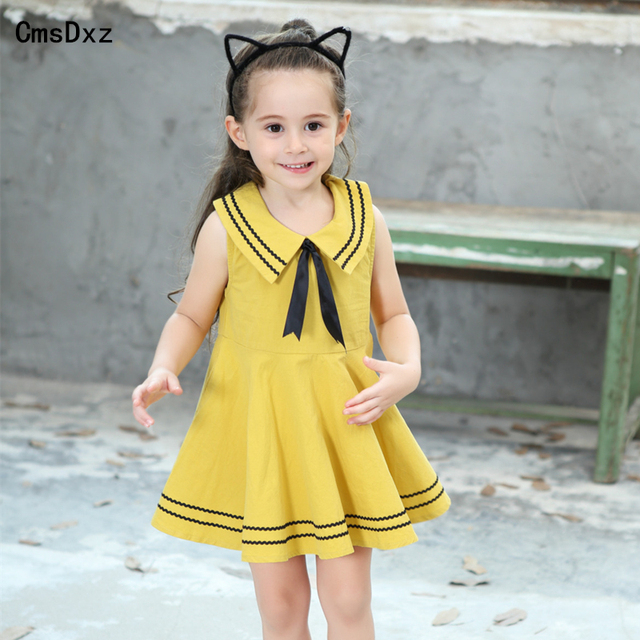 93b4cf976a31 CmsDxz 2017 Summer Cute Style Baby Infant Girl Dress New Navy ...