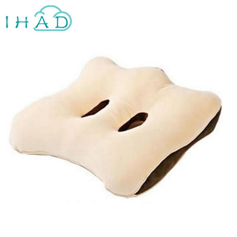 Aliexpress Buy IHAD Two Hole Office Chair Cushion Pillow Decoration Placed In The Living Room And Car Relieve Fatigue Sedentary Not Tired From