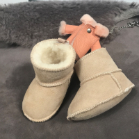 Baby toddler shoes soft bottom Baby home shoes lamb fur one kid shoes 0 12 month baby shoes