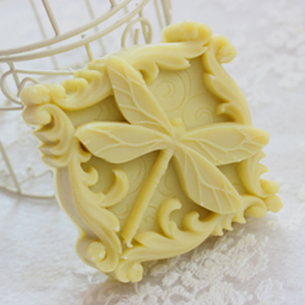 Soap Mold Soap making Tools Diy Craft Candle Mould Silicone Molds Dragonfly 122