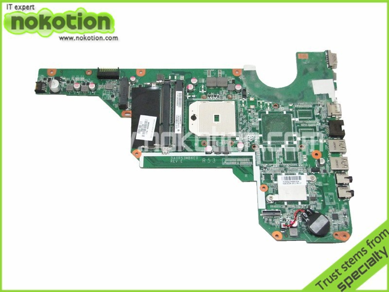 NOKOTION Free shipping laptop motherboard for hp G7 G7-2000 683029-501 DA0R53MB6E0 218-0755097 DDR3 683029 501 683029 001 main board fit for hp pavilion g4 g6 g7 g4 2000 g6 2000 laptop motherboard socket fs1 ddr3