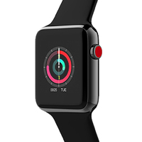 Bluetooth Smart Watch Series 3 SmartWatch Case For Apple IOS IPhone Xiaomi Android Smart Phone NOT