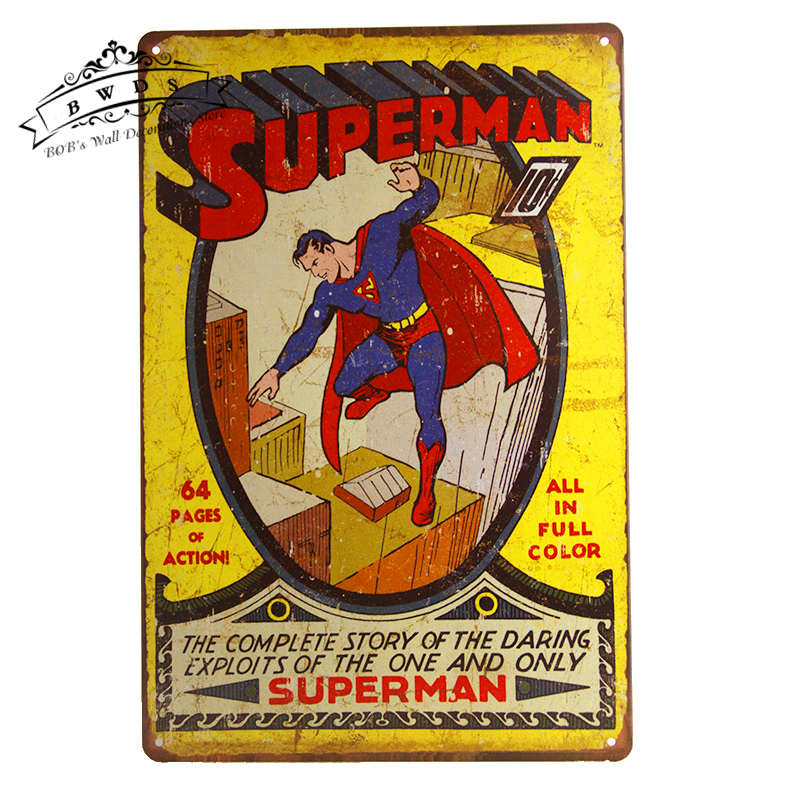 Beautiful Super Hero Wall Decor Composition - All About Wallart ...