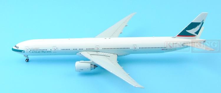 Spike: Wings XX4503 JC Hongkong Cathay Pacific B-KQY 1:400 B777-300ER commercial jetliners plane model hobby