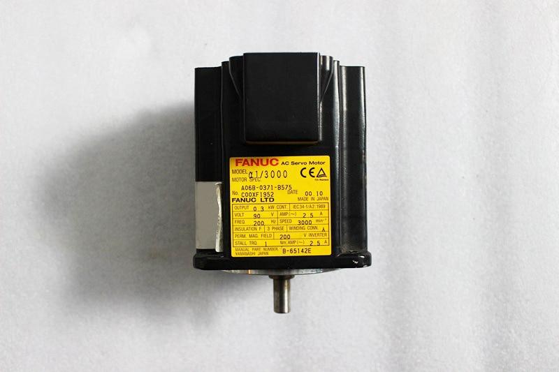 FANUC USED MOTOR A06B-0371-B575 SERVO MOTOR CNC PARTS fanuc a06bFANUC USED MOTOR A06B-0371-B575 SERVO MOTOR CNC PARTS fanuc a06b
