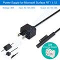 Kl marca 36 w fonte de alimentação para microsoft surface pro 3 superfície Pro 4 Carregador Adaptador de Energia AC Carregador Universal Plug Adapter Presente