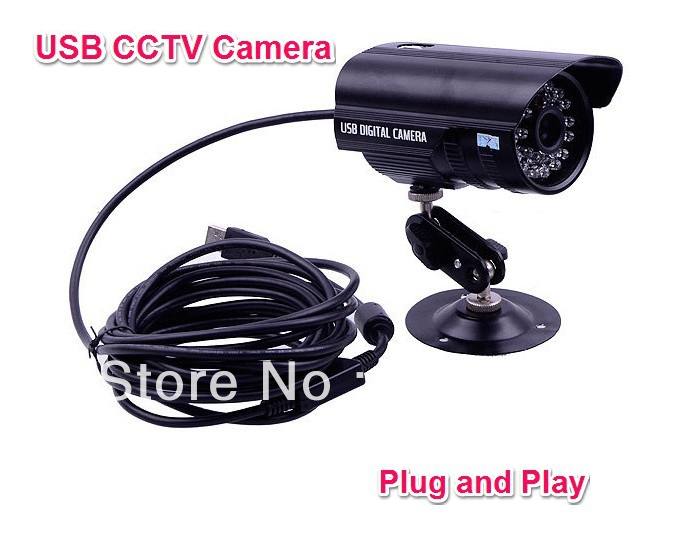 IR Nightvision Waterproof Indoor outdoor Motion Detection USB CCTV camera Used For Home Shop Office