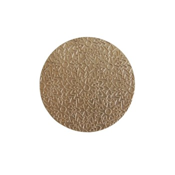 58mm  design pattern press plate for compact or eyeshadow powder, compact powder design plate can customized design.